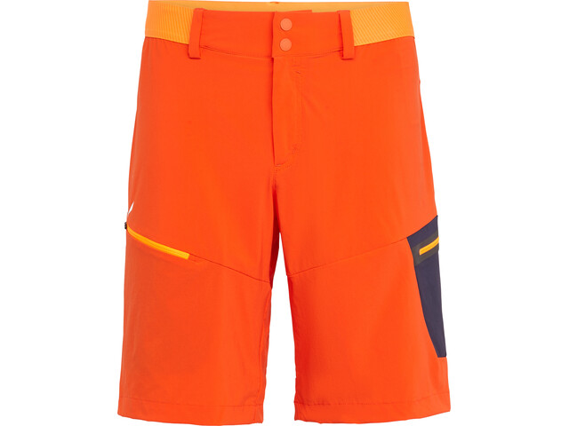SALEWA Pedroc Cargo 2 Durastretch Pantaloncini Uomo, arancione
